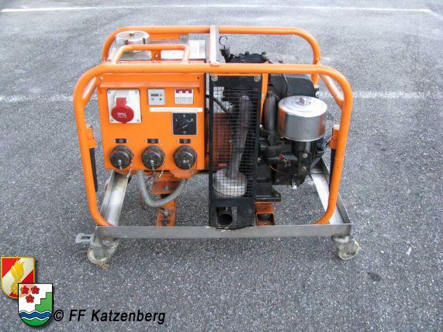 Stromgenerator 8 kvA